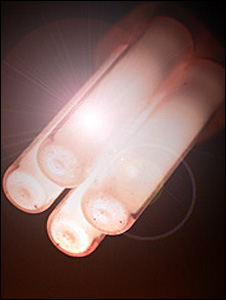 Energy efficient light-bulb (Image: BBC)