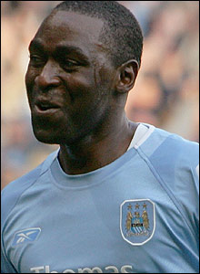 Andrew Cole at Manchester City