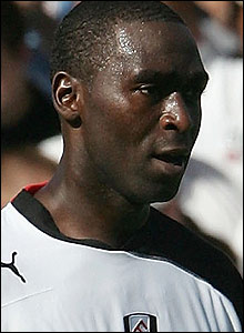 Andrew Cole at Fulham