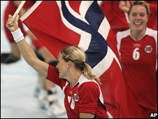 Norway's women handball team