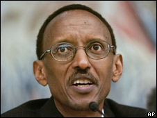 Rwandan President Paul Kagame, at a news conference on 11 November 2008
