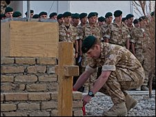 Service in Afghanistan