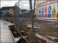 Housing development at Kinnaird Village