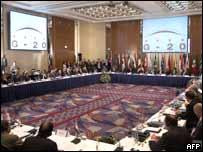 Reuni�n del G-20 en Brasil