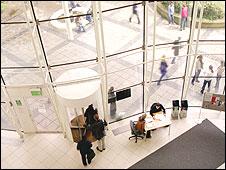 University doors