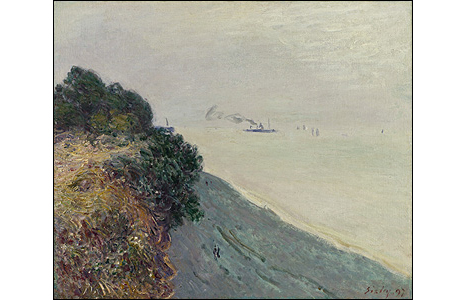 Welsh Coast (Penarth), 1897. © Niedersächsisches Landesmuseum Hannover
