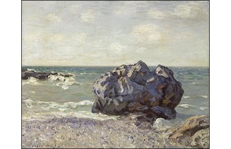 Storr's Rock, Rotherslade Bay, from below the Osborne Hotel, 1897. © Kunstmuseum Bern (G 1851)