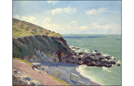 Lady's Cove, Langland Bay, Morning, 1897. © Photo courtesy of the owner