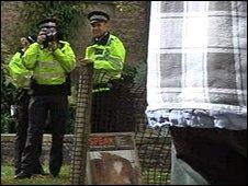 Police photograph protestors