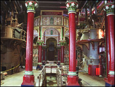 Inside Crossness Pumping Station