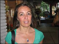 Ana Carrasco, uruguaya partidaria de la despenalizaci�n del aborto