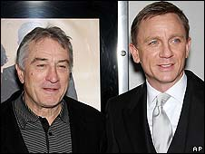 Robert De Niro and Daniel Craig