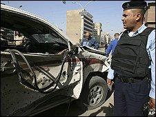 Aftermath of Baghdad bombings - 11/11/2008