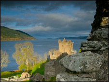 Urquhart Castle on Loch Ness. Pic: Iain Maclean