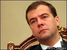 Russian President Medvedev