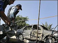 Explosión de un coche bomba en Irak