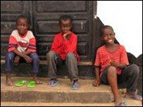 3 Liberian boys