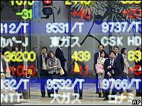 Índices bursátiles en Japón