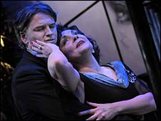 Ben Goddard and Kathryn Evans in Sunset Boulevard