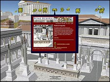 Google Earth Ancient Rome