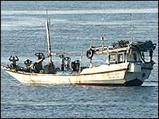 Crew surrenders