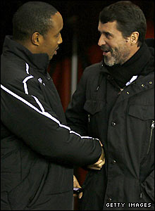Paul Ince and Roy Keane
