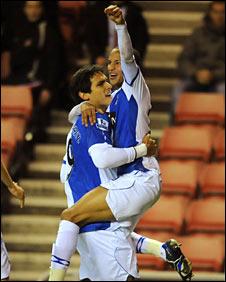Roque Santa Cruz opened the scoring for Blackburn