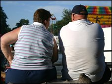 Image of overweight couple
