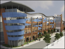 Proposed Boston College building