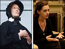 Meryl Streep in Doubt and Anne Hathaway in Rachel Getting Married