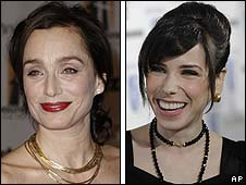 Kristin Scott Thomas and Sally Hawkins