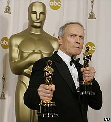 Clint Eastwood at the 2005 Oscars