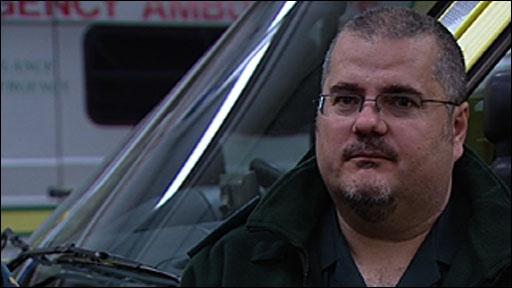 Paramedic Darren Harding