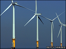 Liverpool's Burbo Bank wind farm