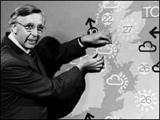 BBC weather forecaster Jack Scott