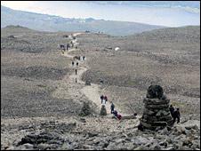 Ben Nevis summit. Pic: John Muir Trust