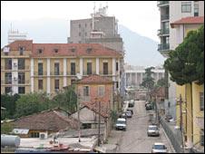 Albania's capital, Tirana