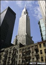 The Chrysler Building in Manhattan