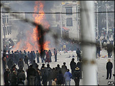 Protests in Tibet in March 2008