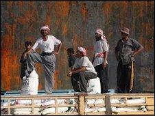 Iraq dock workers