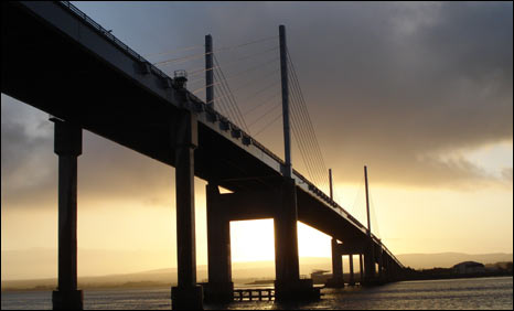Kessock Bridge. Pic: Dan Holland
