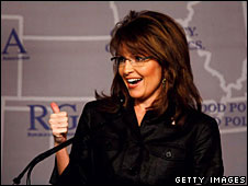 Sarah Palin at the Republican Governor's Association convention, Miami, 13 November 2008