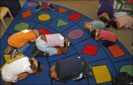 US schoolchildren