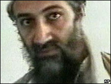 Bin Laden in 2001 al-Jazeera grab