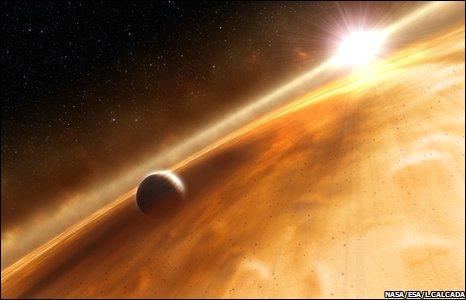 Exoplanet (Nasa/Esa/L.Calcada)