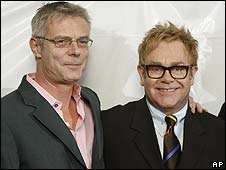 Stephen Daldry and Sir Elton John