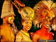 Lion King cast members