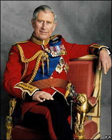 Official portrait of the Prince of Wales