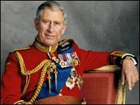 Официальный портрет Чарльза, принца Уэльского