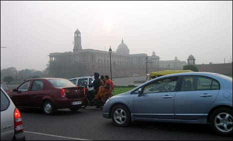 Smog in Delhi, 13 November 2008